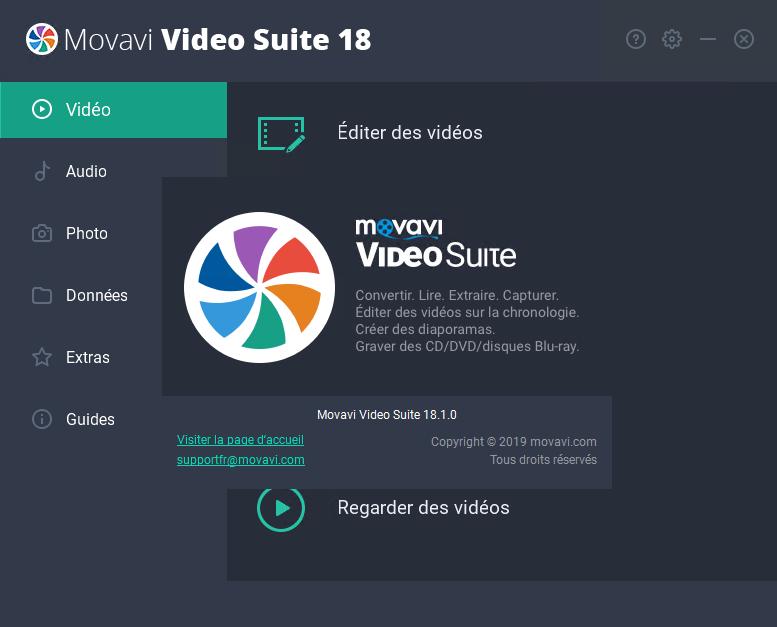 télécharger Movavi Video Suite 18.1.0 Crack