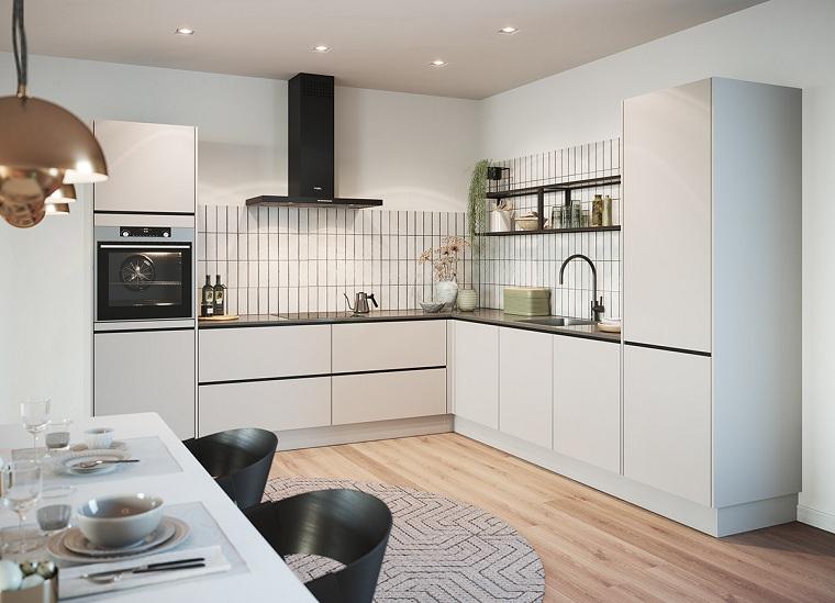 Diseño de cocinas - 20 ideas de iluminación para cocinas modernas