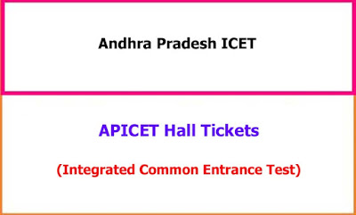 APICET Hall Tickets