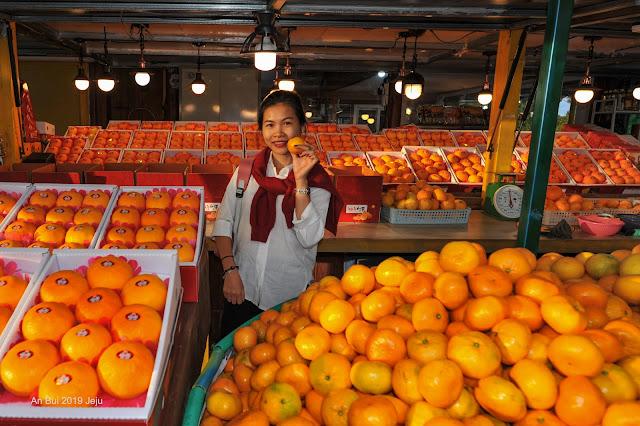 Mùa quýt ở Jeju
