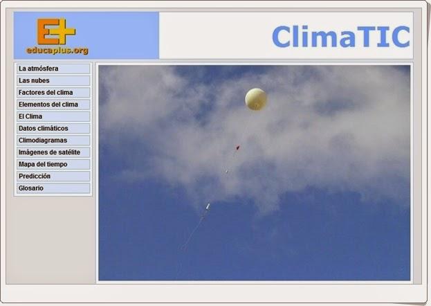 """""""ClimaTIC"""" (Aplicación interactiva sobre el Clima)"""