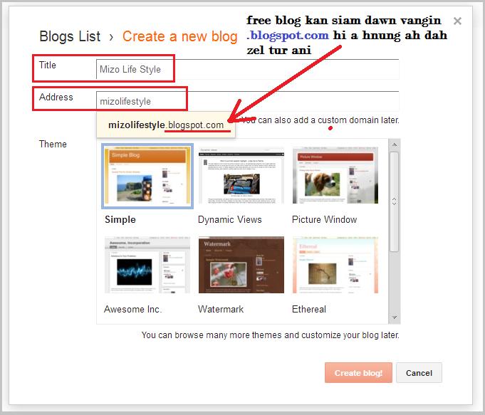 blogger blogspot domain address siam dan