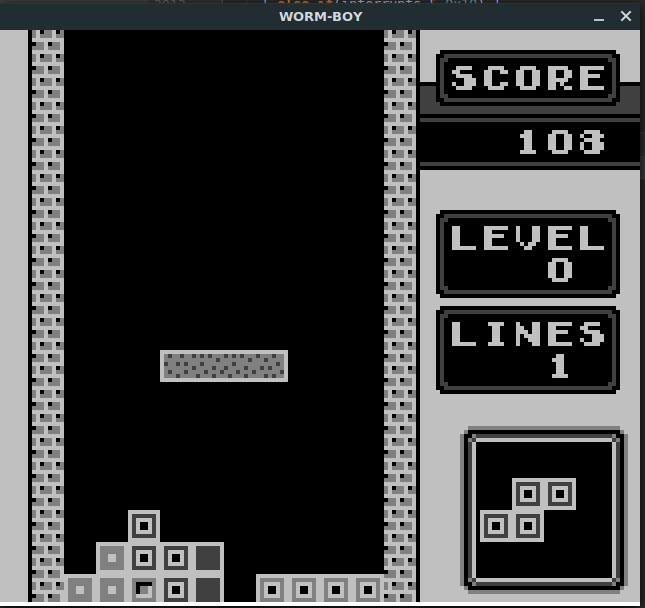 The Cactus Zone: Game Boy Emulator On STM32, over composite