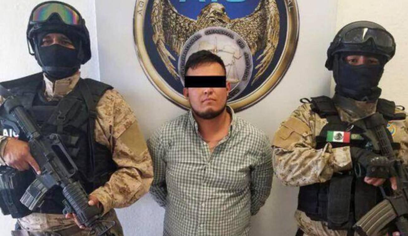 """""""El Ñecas"""", el sanguinario Sicario del Cártel de Santa Rosa de Lima planeaba poner bomba en avión"""