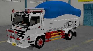 Download Mod Hino Dump Modifikasi Mirip Scania