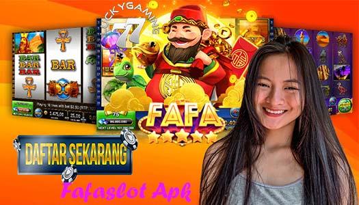 Fafaslot Apk Penyedia Game Slot Online Terlengkap Di Indonesia