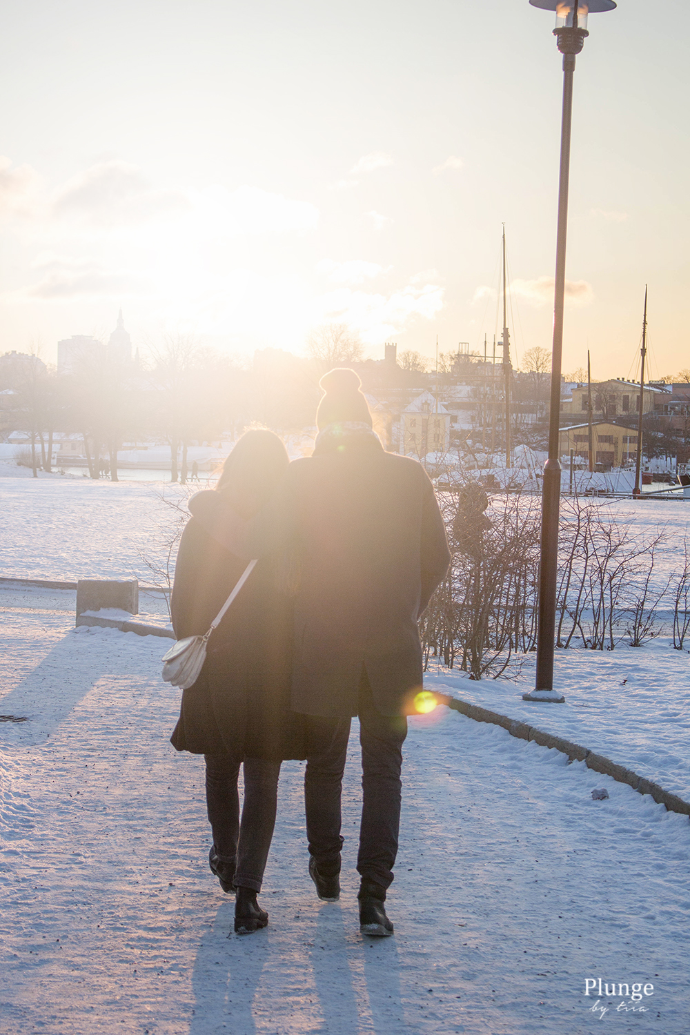 Winter day in Stockholm