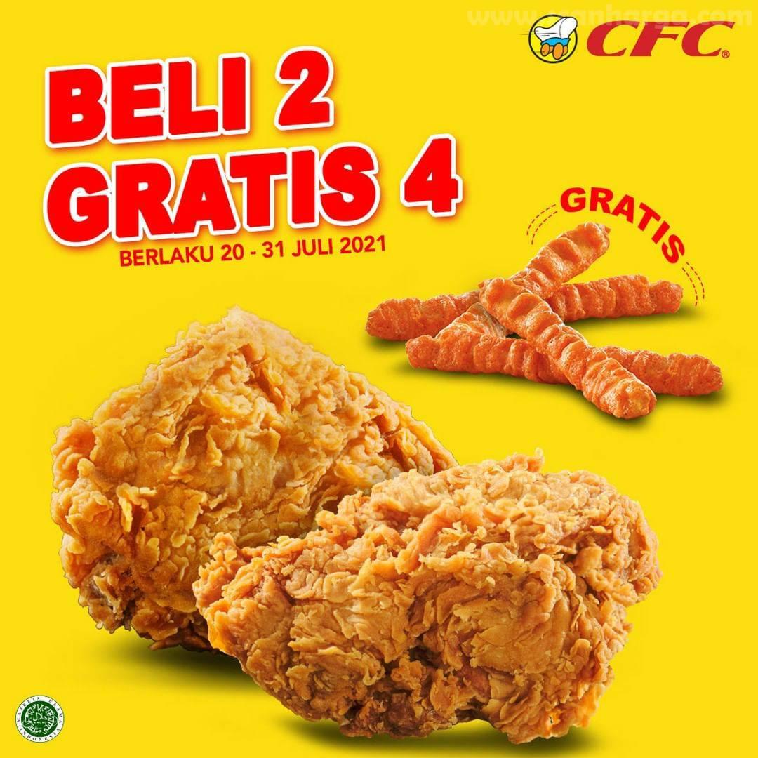 CFC Promo PAKET HEPI Diskon hingga 40% + Beli 2 Gratis 4 3