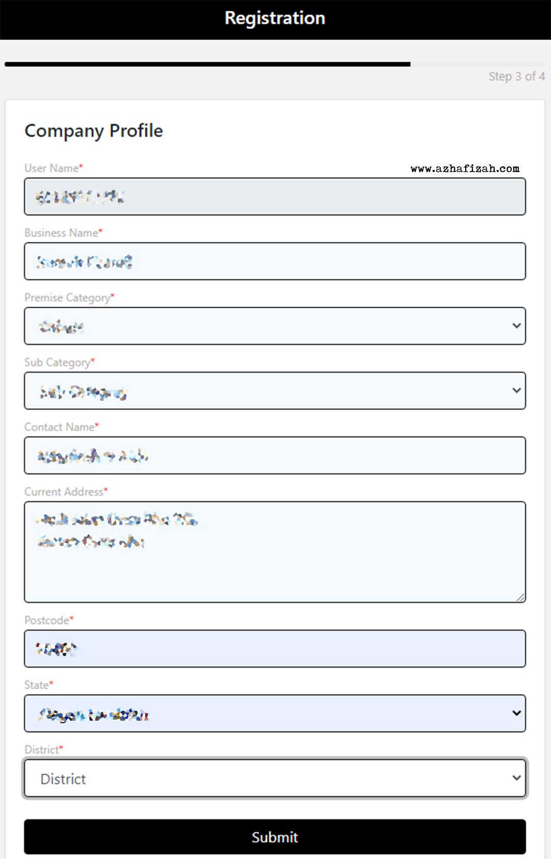 Langkah 4 Cara Buat QR Code My Sejahtera Untuk Rumah