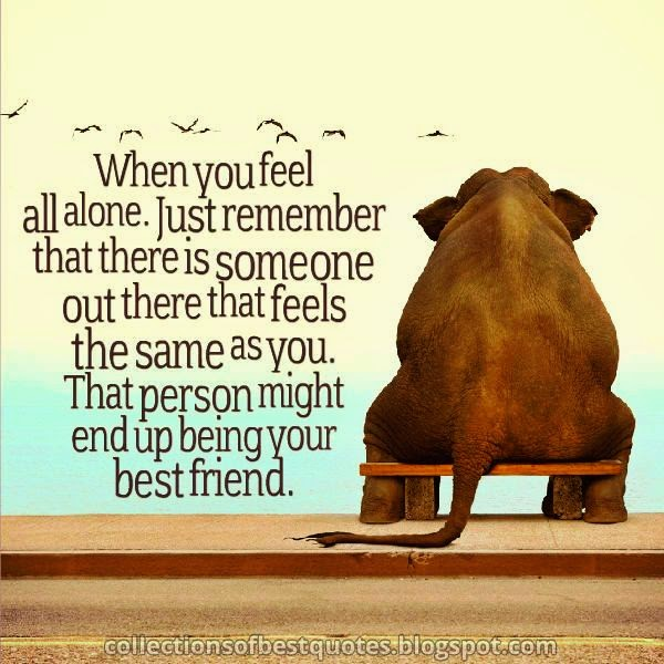 Collections Of Best Quotes You Are Not Alone