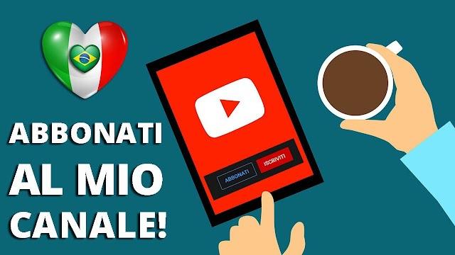 """Abbonatevi al canale di """"Un italiano in Brasile""""!"""