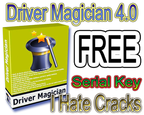 Driver Magician 4.0 Free Download With Serial Key For Free