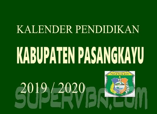Kalender Pendidikan 2019/2020 Kabupaten Pasangkayu