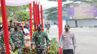 Kapolri dan Panglima TNI Buka Latsitarda Nusantara XLI di Sumut