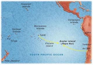 onde fica a Ilha de Páscoa?