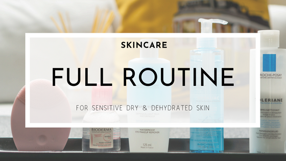 Skincare - Full routine! From Cleansing to Hydration, to anti-ageing. Features Bioderma, LaRoche Posay, Pixi and The Ordinary products.