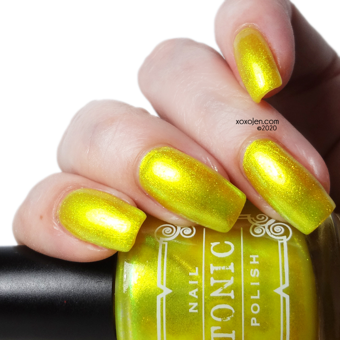 xoxoJen's swatch of Tonic Shine A Light