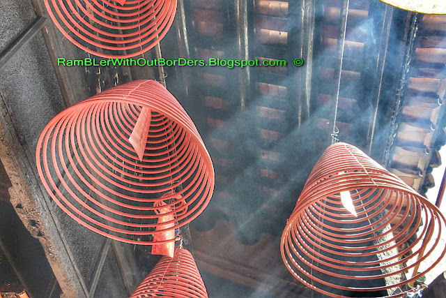 Incense Coils, Tin Hau Temple, Yau Ma Tei, Kowloon, Hong Kong