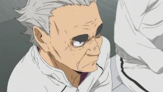 ハイキュー!! アニメ 3期9話   白鳥沢 監督 鷲匠鍛治   Karasuno vs Shiratorizawa   HAIKYU!! Season3