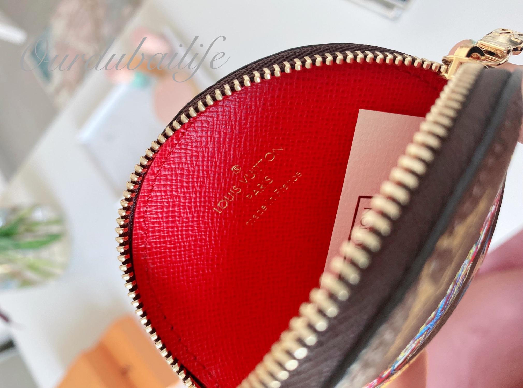 Louis Vuitton Christmas 2020 Bumper car round coin purse