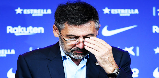 Barcelona president Bartomeu and entire board resigns from club