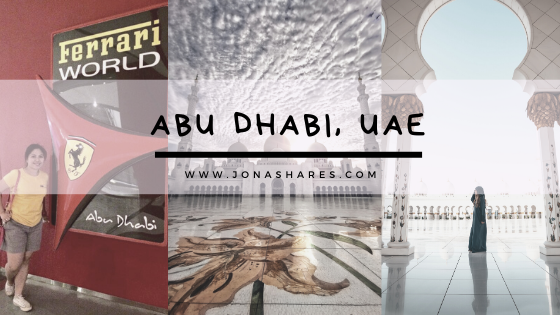 |Travel| First Timers in Abu Dhabi, UAE