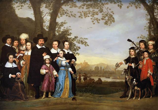 Альберт Кёйп - Семейный портрет. ок1650
