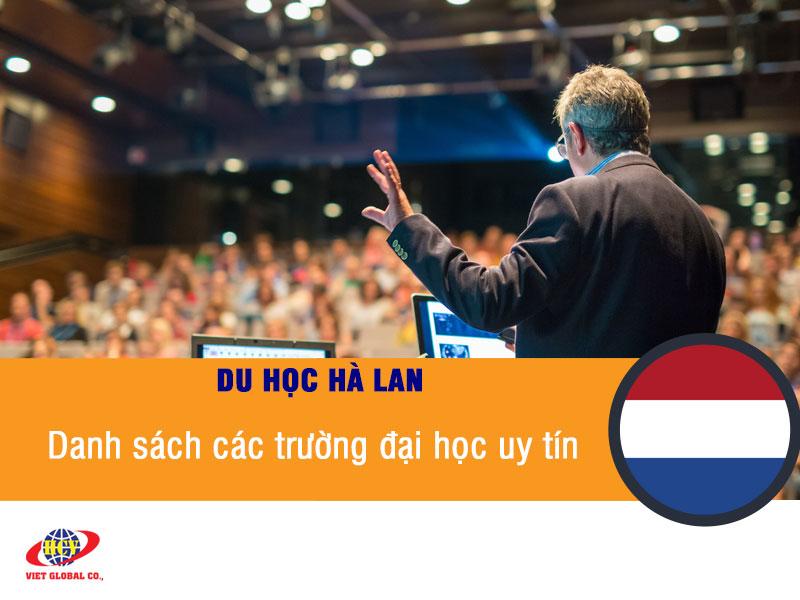 Du học Hà Lan: Danh sách các trường đại học Hà Lan uy tín