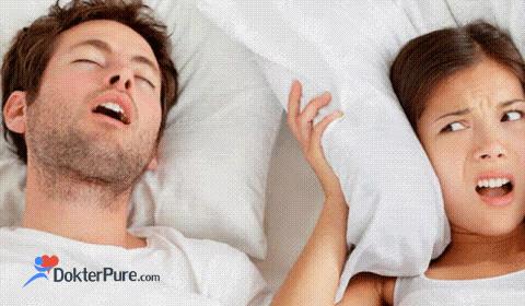 Cara Mengatasi Tidur Ngorok Dengan Mudah