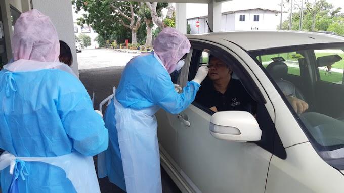 Covid-19: Ujian Secara Pandu-Lalu (Drive-Thru), Keputusan 48 Jam Boleh Dibuat di Nilai Medical