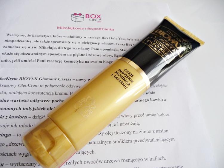 oleokrem do włosów L'Biotica