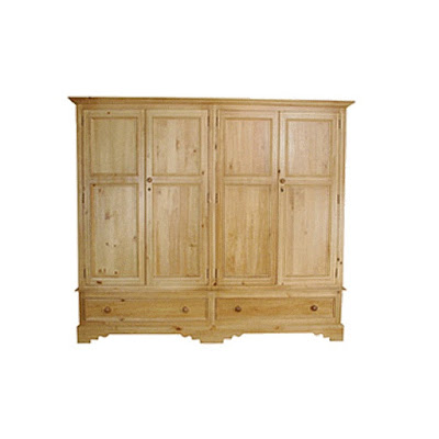 Teak Minimalist waredrobe and Armoire 2 door furniture,interior classic furniture code 122