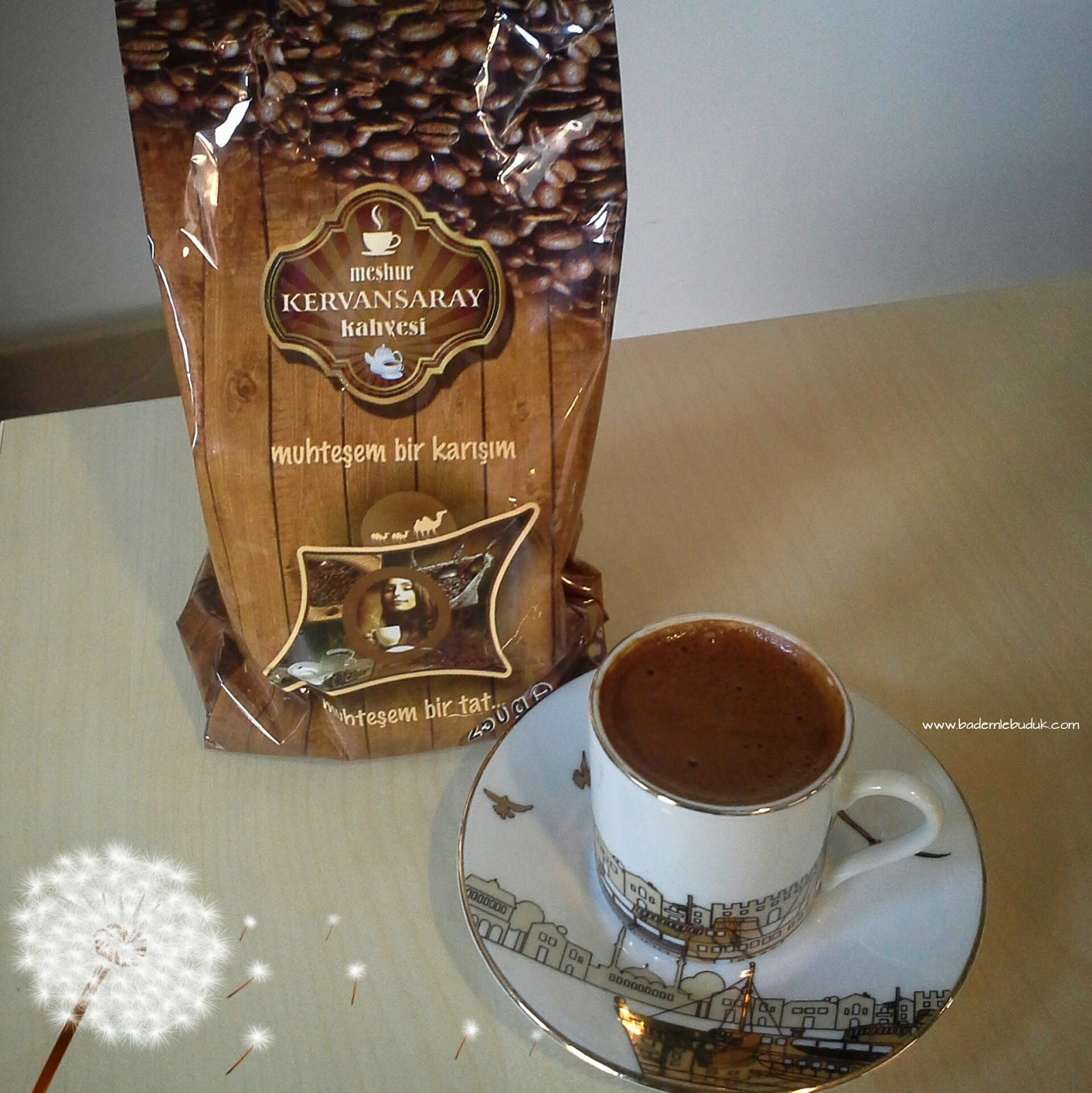 Kervansaray kahve - menengiç kahve - türk kahvesi