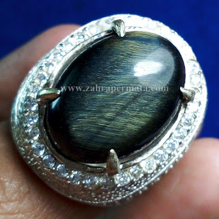 Cincin Batu Black Tiger Eye