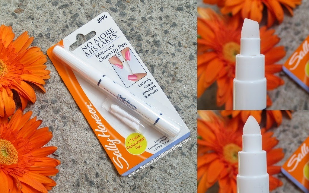 Sally Hansen No More Mistakes Manicure Clean-Up Pen Review