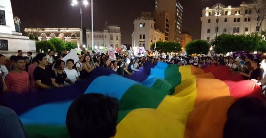 Activistas marcharon por las calles de Lima en contra de la modificación del D. L. N° 1323