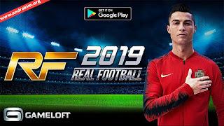 تحميل لعبة Real Football 2019 للأندرويد / Download Real Football 19 Android