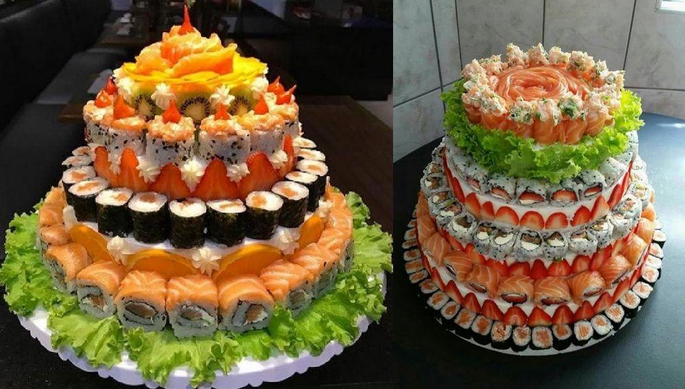 Kue Ulang Tahun Sushi (happybirthdayworld.net)