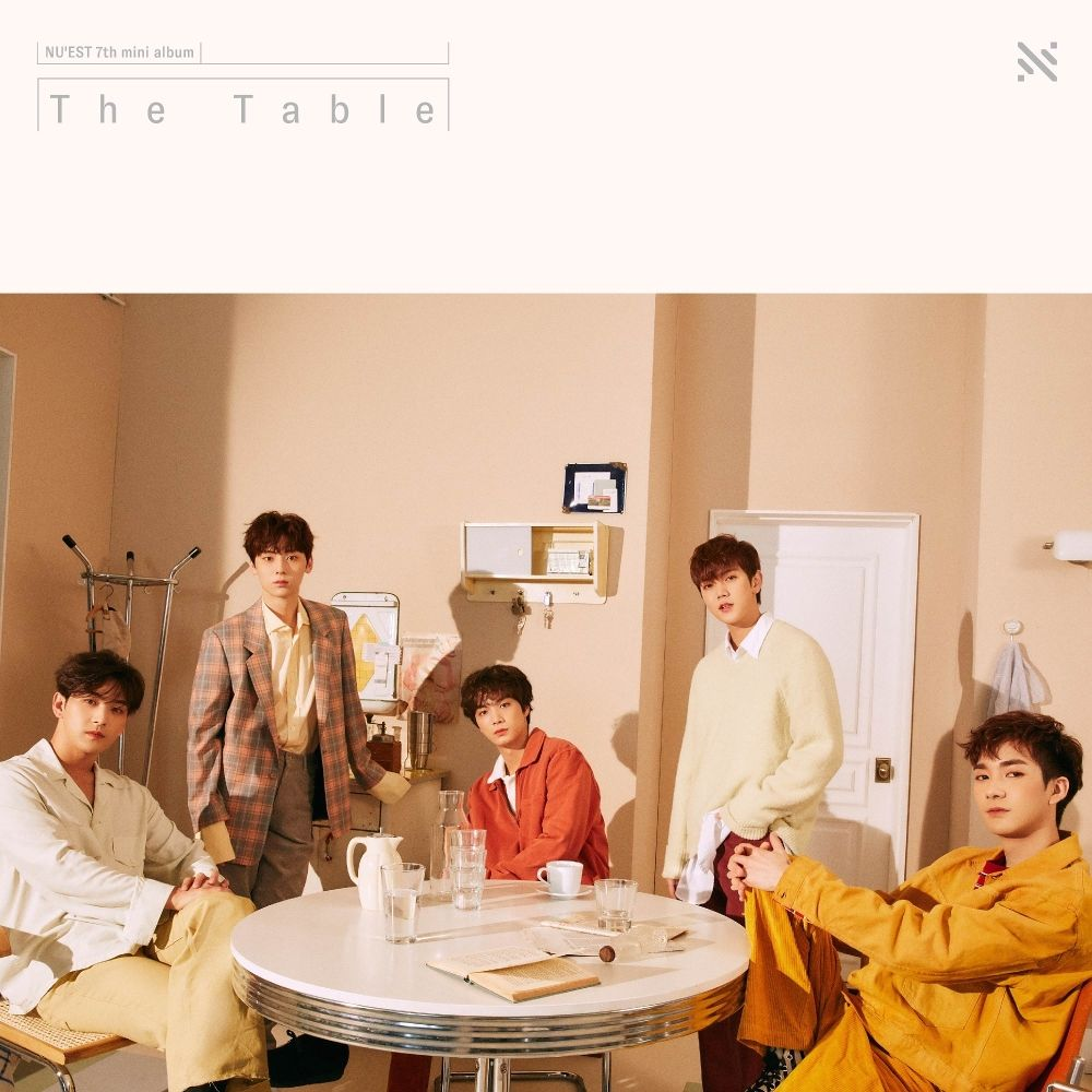 NU'EST – The 7th Mini Album 'The Table' (ITUNES MATCH AAC M4A)