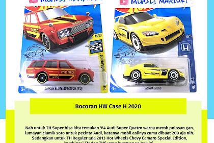 Bocoran Hot Wheels Case H 2020