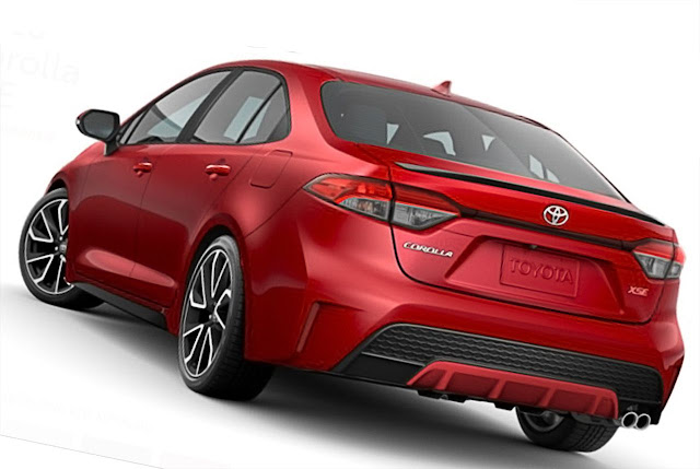 Toyota-Corolla-XSE-2020-rear-exhaust-taillights