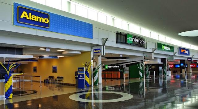 Locadoras de carro no aeroporto de Miami