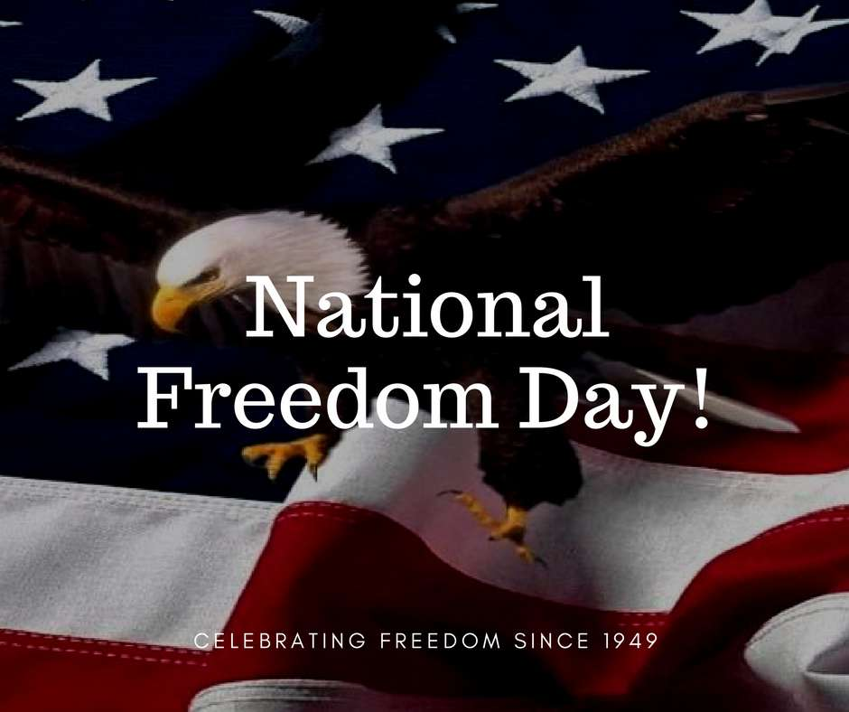 National Freedom Day Wishes Awesome Picture