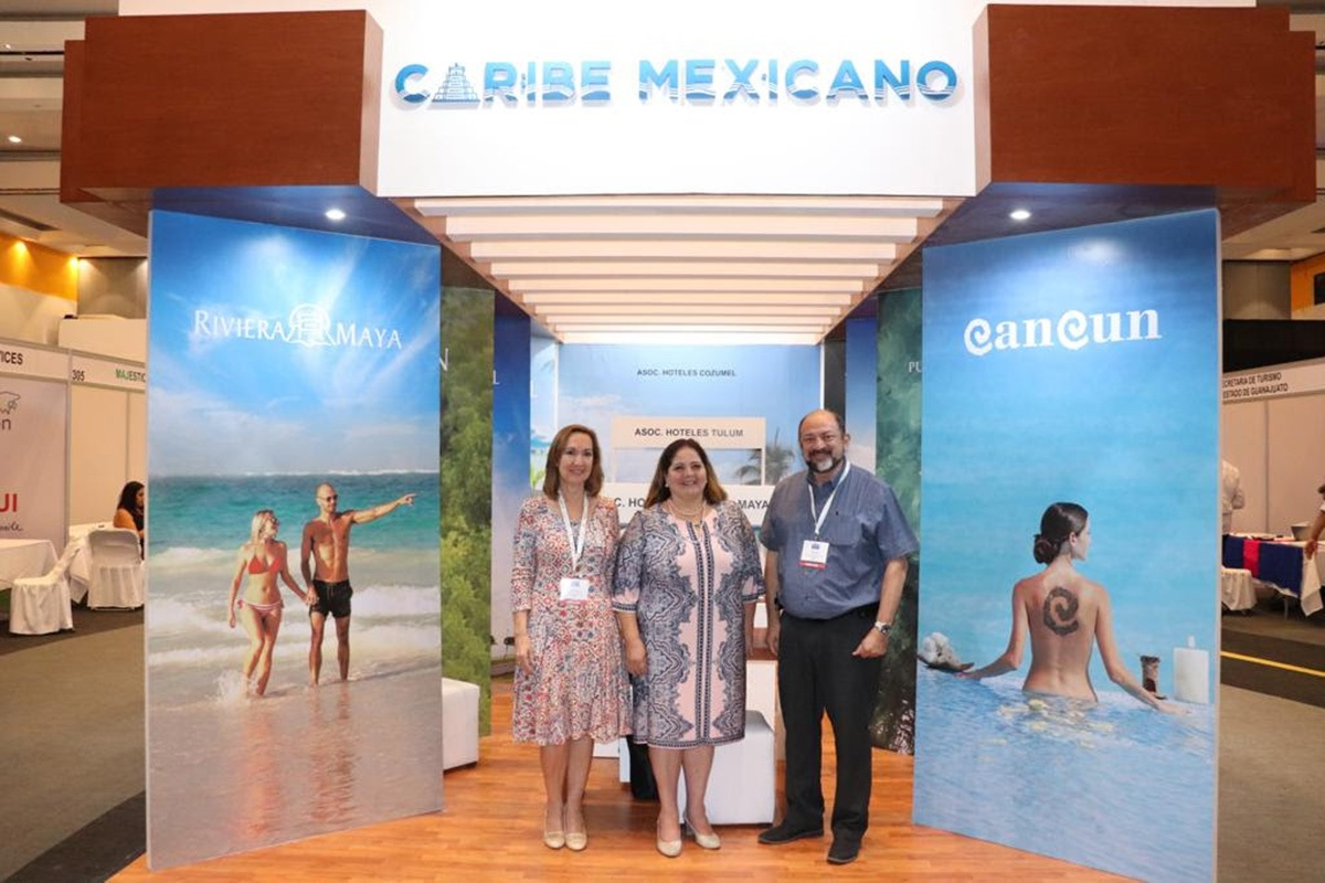 MÉXICO PRESENCIA WORLD TRAVEL MARKET PABELLONES 3