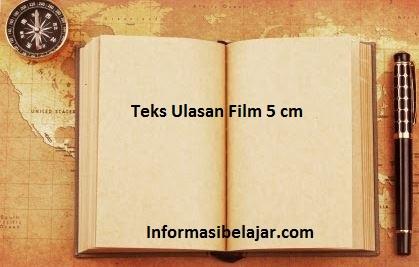 teks ulasan film 5 cm
