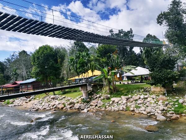 Tubing, Flying Fox dan Abseiling di Teratak Riverview Ulu Bernam