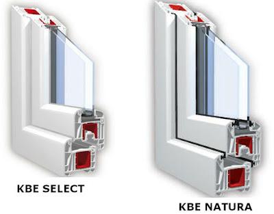 Cấu tạo cắt lớp của thanh nhựa KBE
