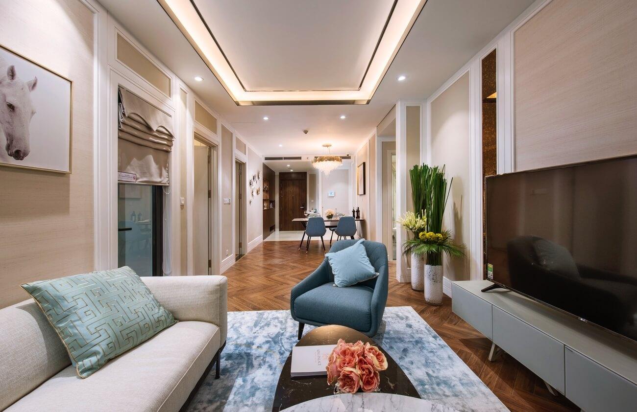 Nội thất căn hộ dự án King Palace Nguyễn Trãi