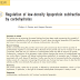 Regulação de subfrações de lipoproteínas de baixa densidade por carboidratos.