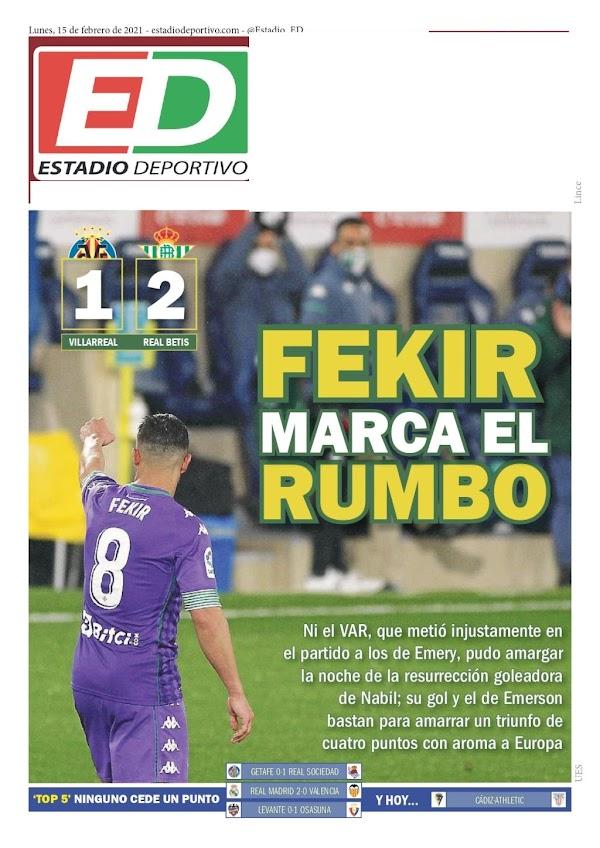 """Betis, Estado Deportivo: """"Fekir marca el rumbo"""""""